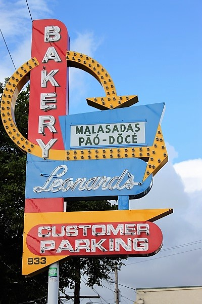 Leonards Bakery Sign