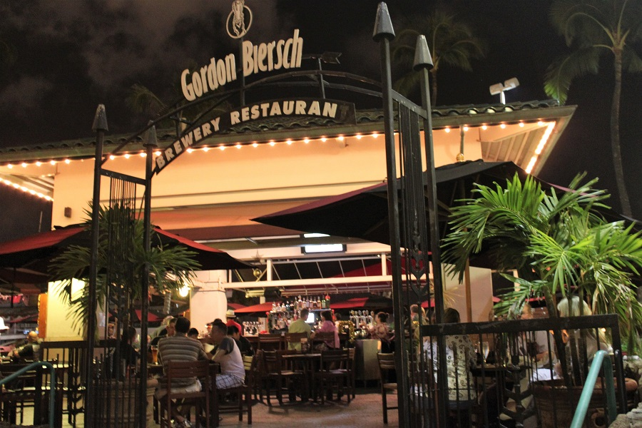 Gordon Biersch Restaurant Honolulu