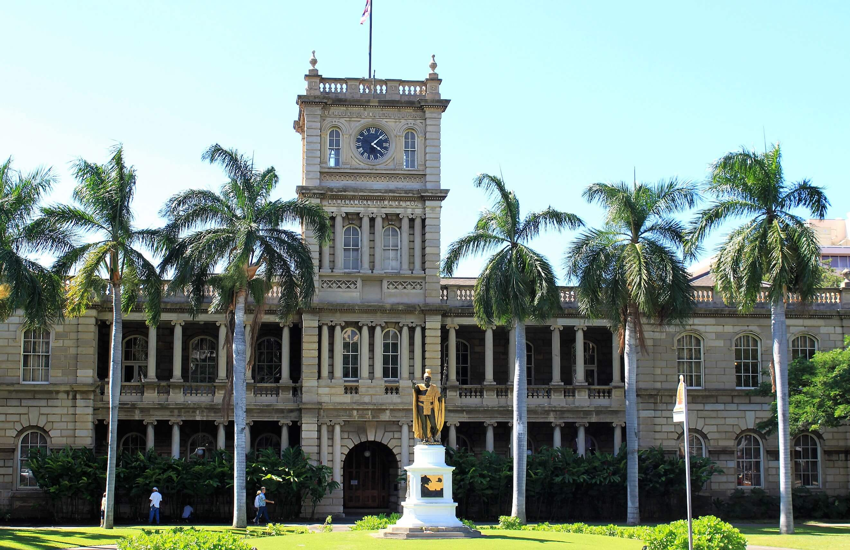 Iolani Palace;