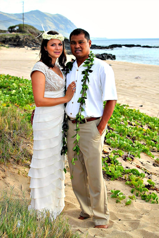 Hawaiian Wedding on the Beach
