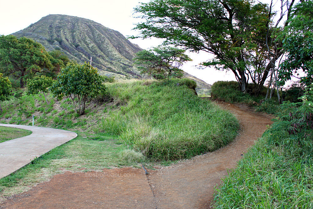 Koko Crater Trail Start