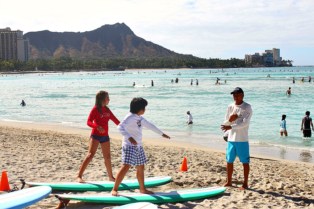 Hawaiian Surfing Lessons