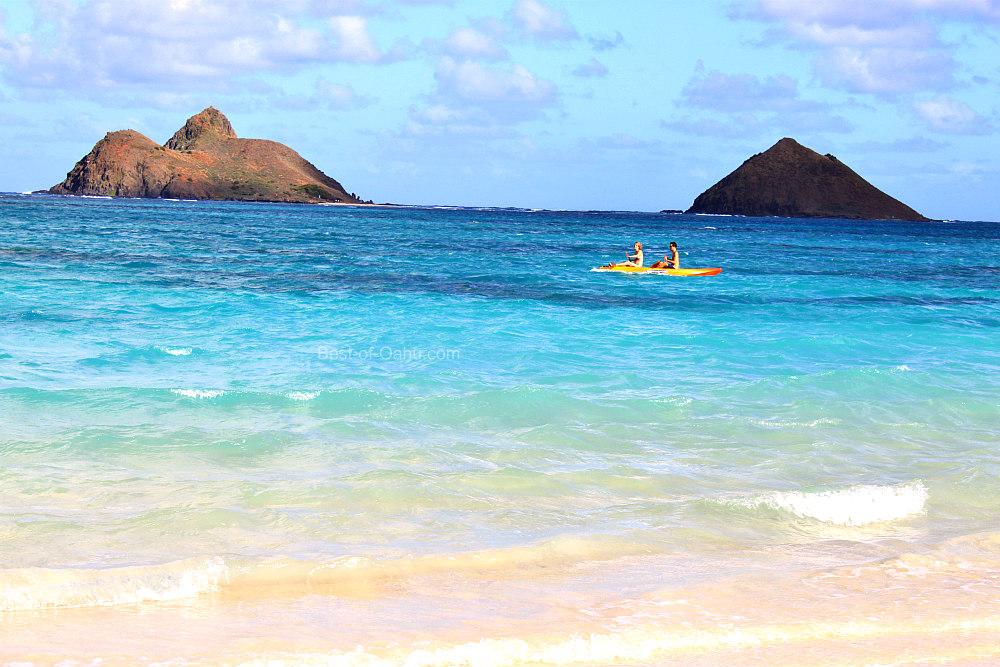 Kayaking Kailua