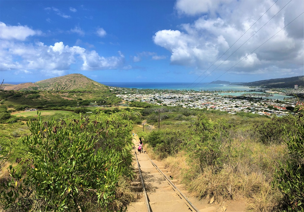 Koko Crater Trail Steps