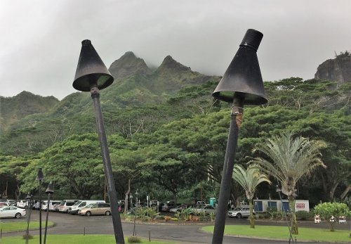 Koolau Golf Club Parking Lot