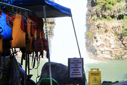 Waimea Falls Life Jackets