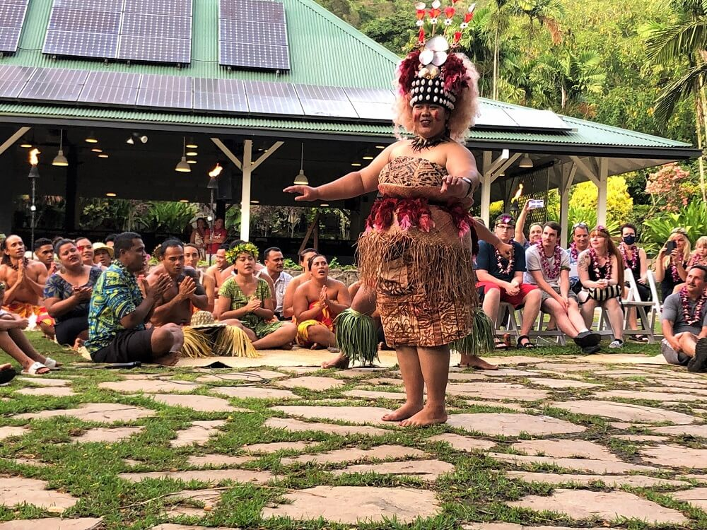 Toa Luau Kava Ceremony Dance