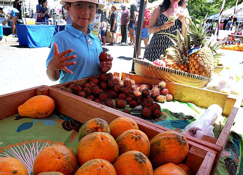 KCC Farmers Market Fruit Stands