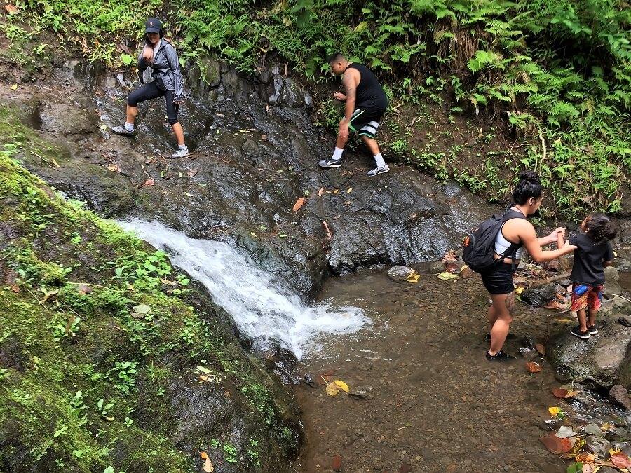 Likeke Falls Hike