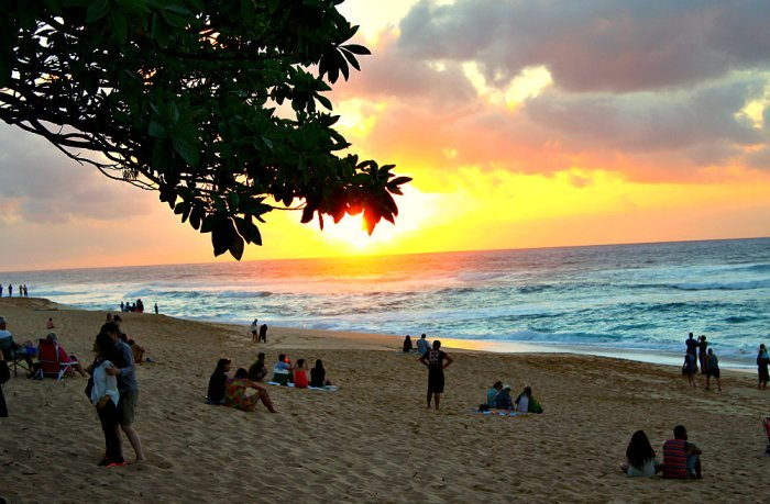 Sunset-Beach-Oahu