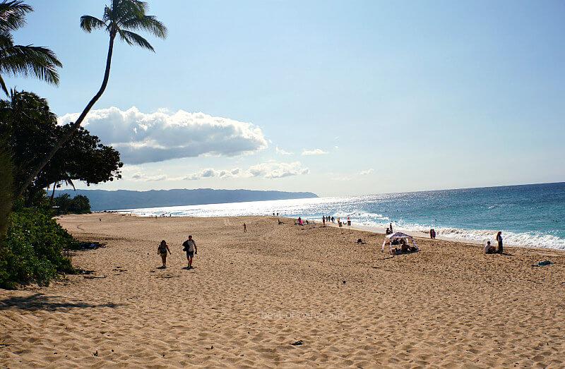 Oahu Sunset Beach