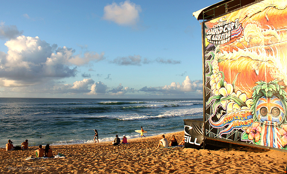 Sunset Beach surf contest