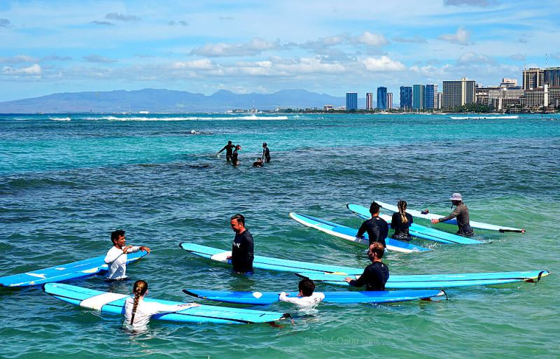 Hawaii Surf Lessons
