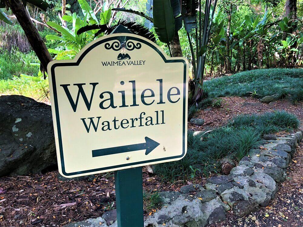 Wailele Waterfall