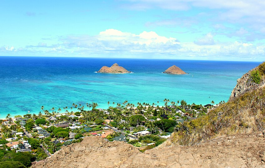Lanikai Pillbox Trail View