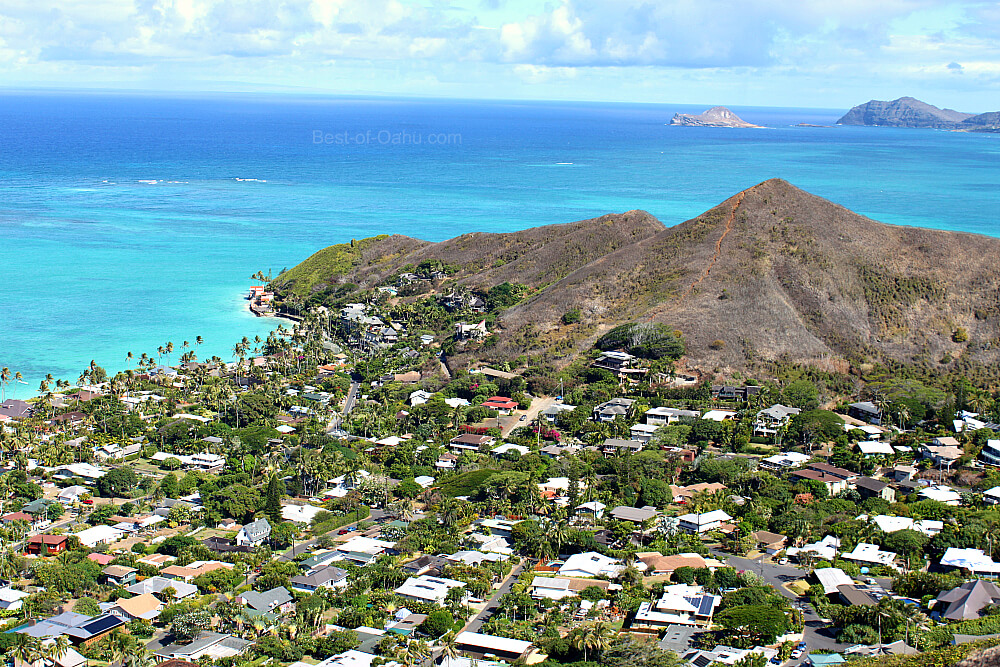 Lanikai Pillbox Neighborhood View