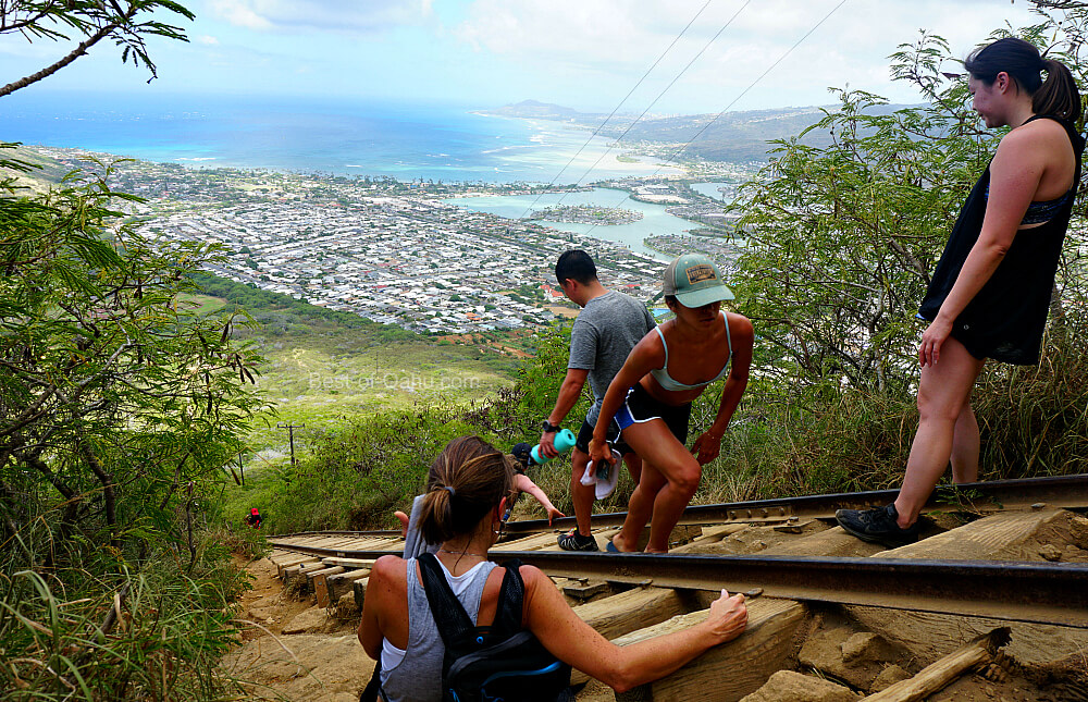 Koko Crater Trail View