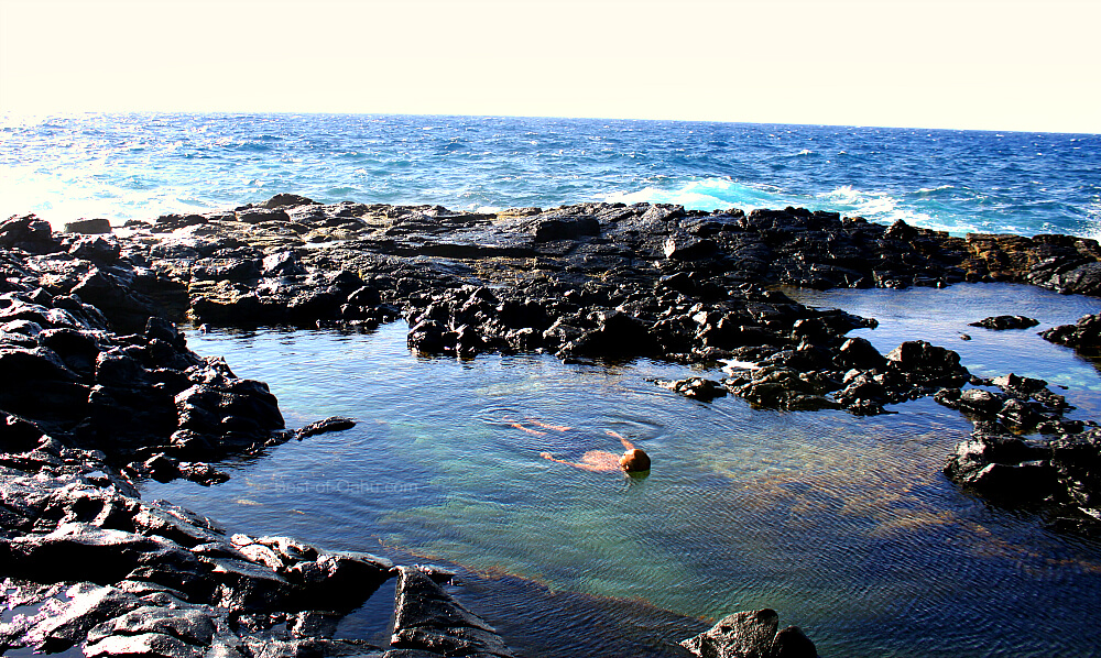 Makapuu Tidepool Swimming