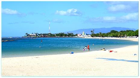 Ala Moana Beach Park Most Popular Local Oahu Beach