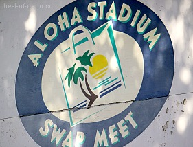 Aloha Stadium Swap Meet Sign
