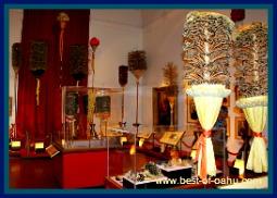Bishop Museum Kahili Room
