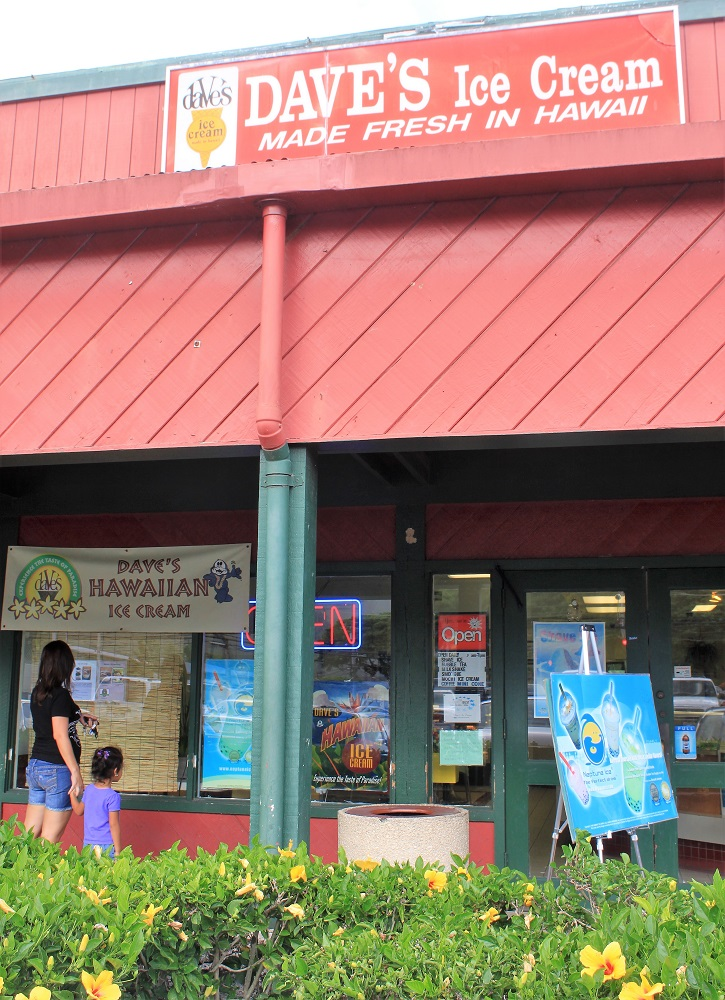 Daves Ice Cream Waimanalo