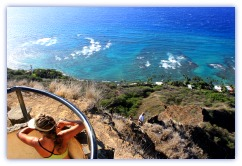 Oahu Hiking Trails Diamond Head