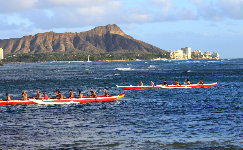 Diamond Head Landmark Oahu