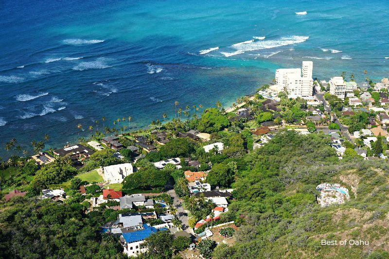 Diamond Head Trail Hotel Views