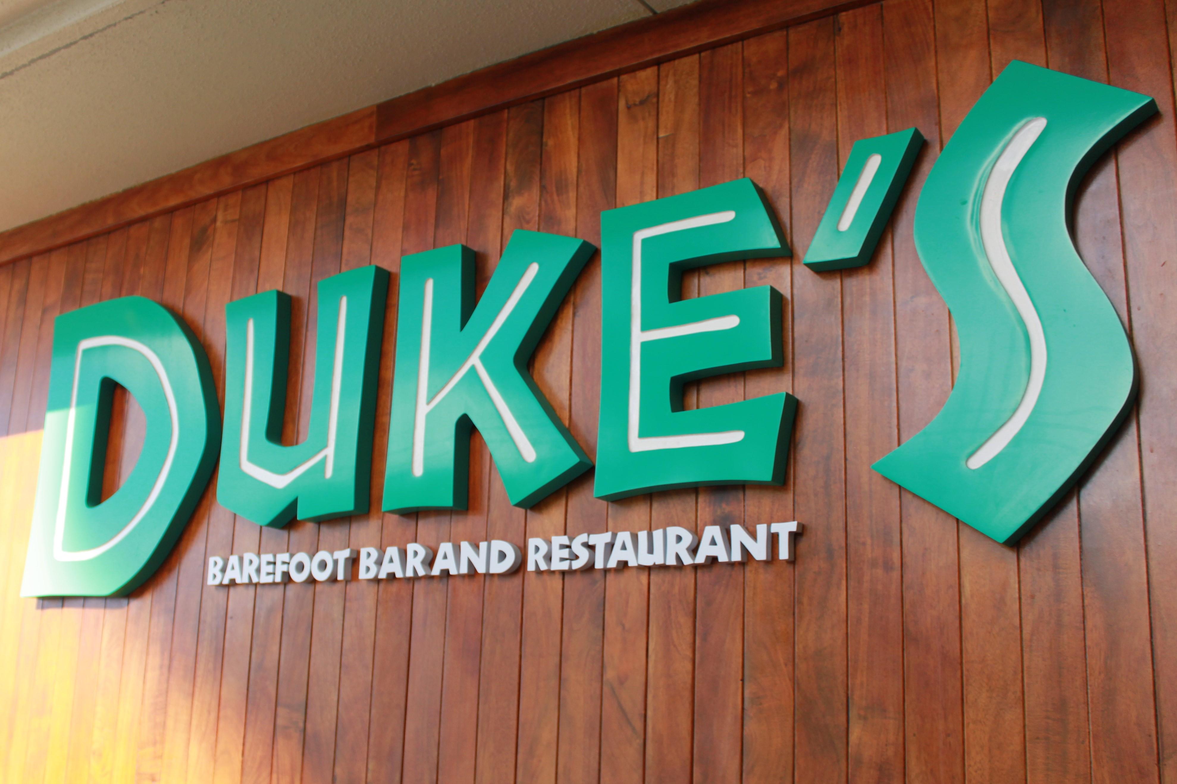 Dukes Barefoot Bar and Restaurant Waikiki