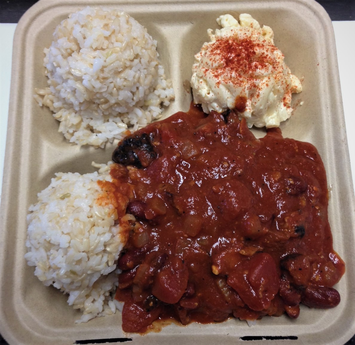 Guava Smoked Chili Plate Lunch