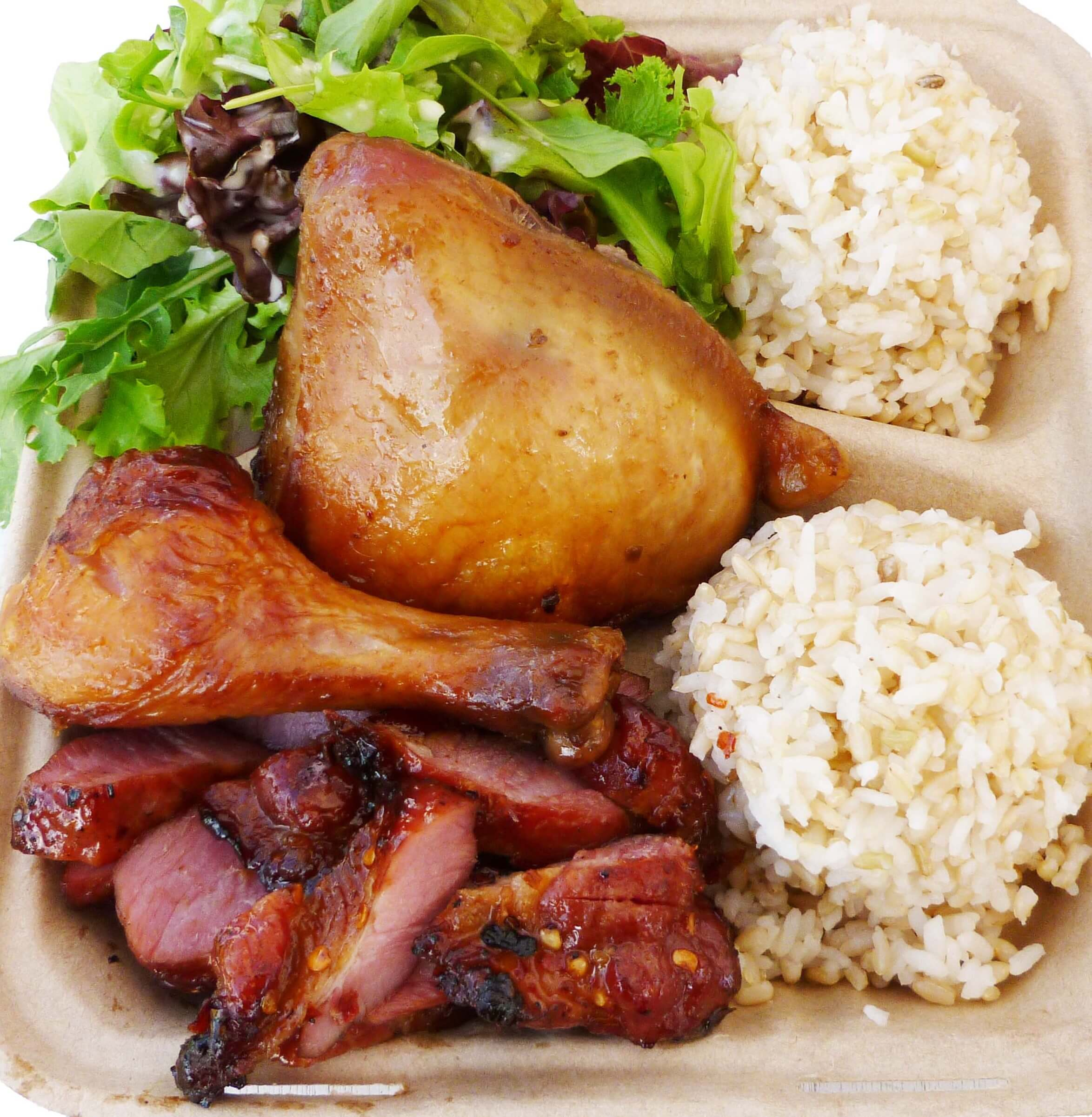 Guava Smoked Mixed Plate Lunch