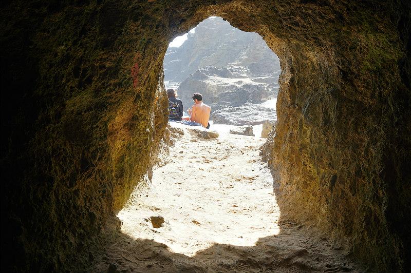 Halona Beach Cove Cave