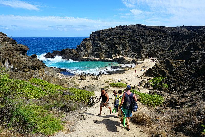 Halona Beach Cove Path