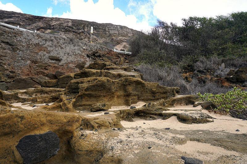 Halona Beach Cove Entrance