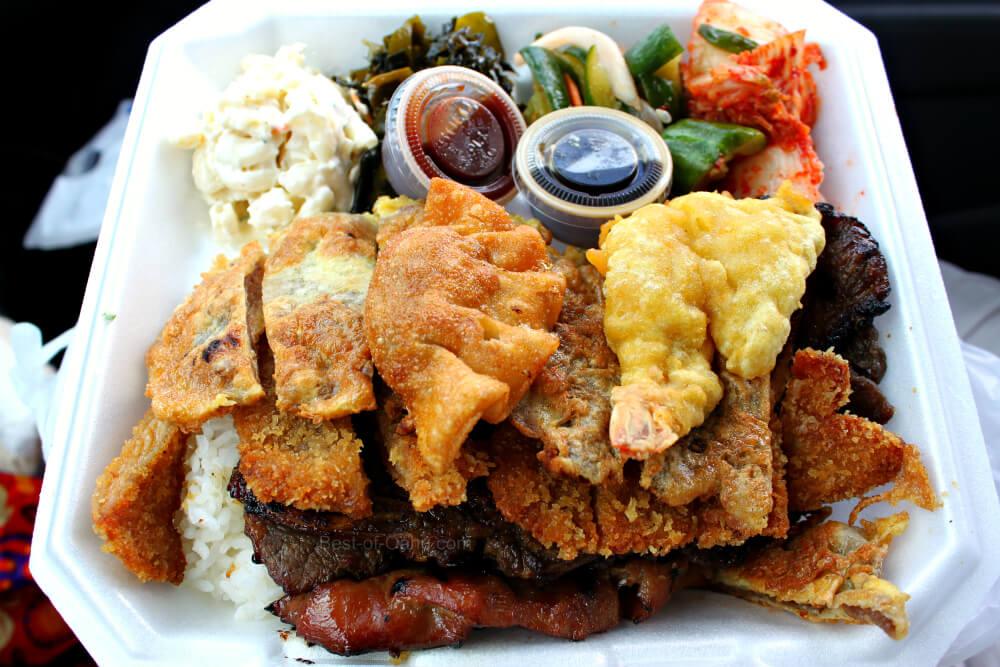 Ohana Bar-B-Q Mix Plate Lunch