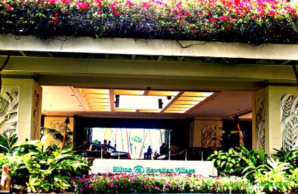 Hilton Hawaiian Village Entrance
