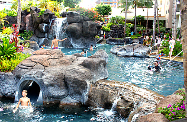 Hilton Hawaiian Pool