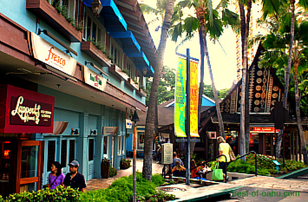 Hilton Hawaiian Village Rainbow Bazaar