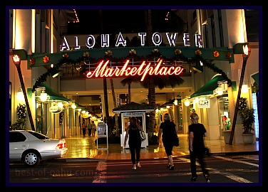 Honolulu Nightlife - Aloha Tower Marketplace
