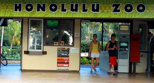 Old Honolulu Zoo Entrance