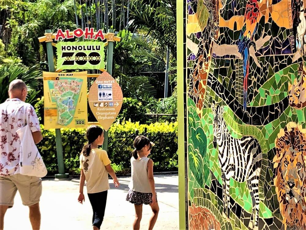 Honolulu Zoo Mural