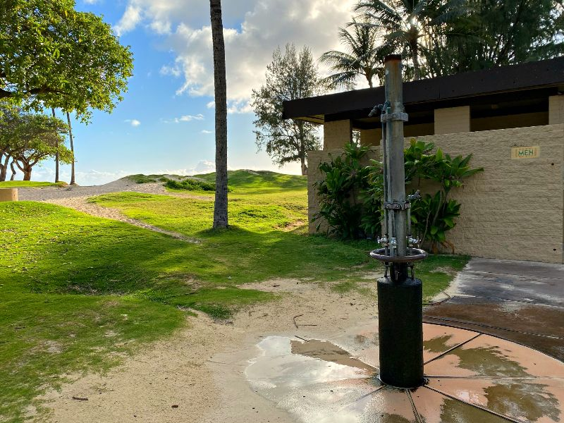 Kailua Beach Facilities