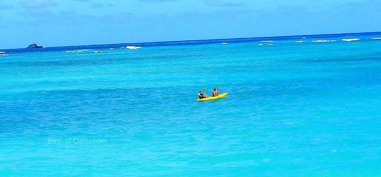 Kailua Beach Kayaking