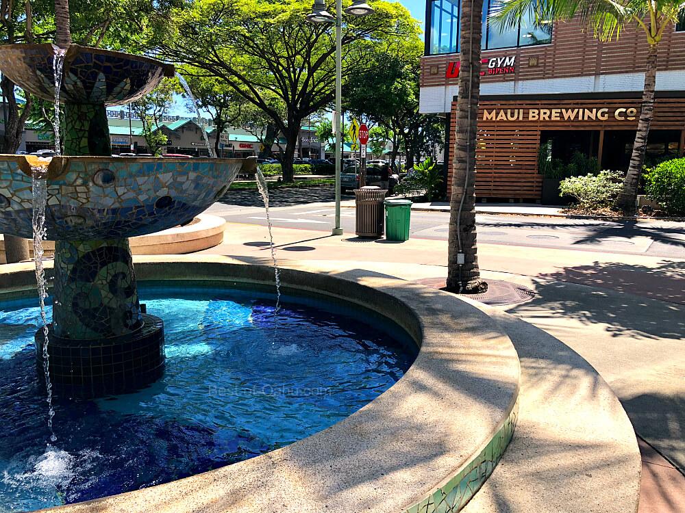 Kailua Town Fountain