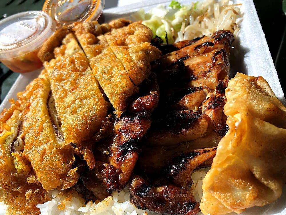 Kim Chee Restuarant Plate Lunch
