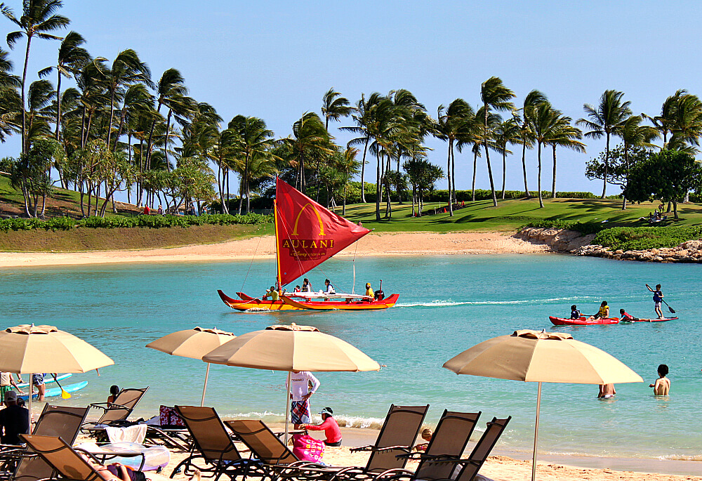 Aulani Resort Outrigger