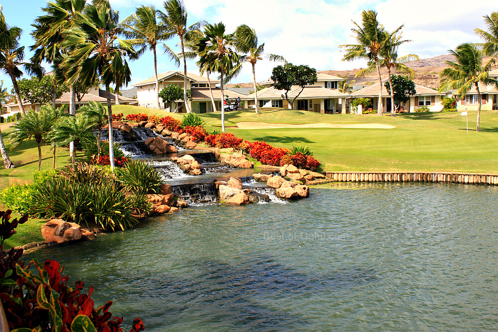 Ko Olina Golf Club 18th Hole