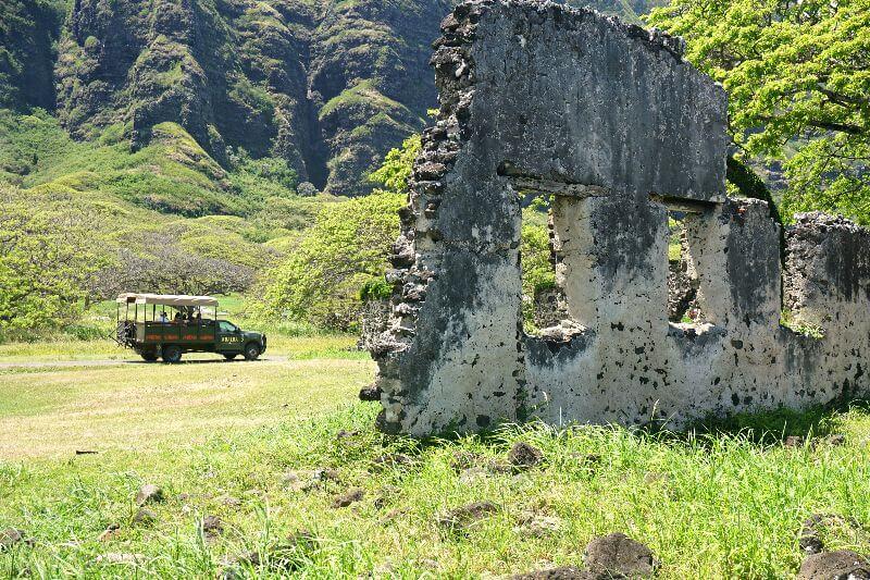 Kualoa Ranch Ruins