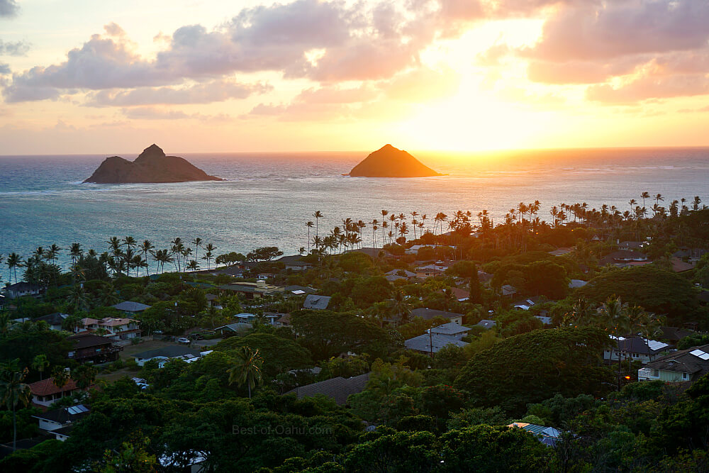 Lanikai Pillbox Sunrise